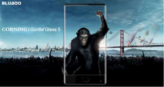 The budget-priced BLUBOO S1 will sport Corning Gorilla Glass 5 to help with ruggedness. (Source: BLUBOO)