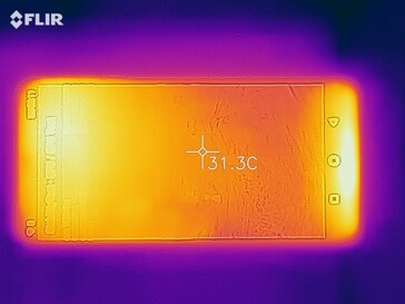 Thermal image - Top