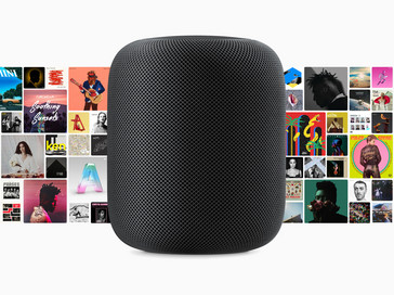 Siri on the HomePod is trained to wade through the huge Apple Music catalog. (Source: Apple)