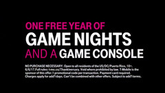 T-Mobile current giveaway, as of this writing, is a gamer's dream prize. (Source: Twitter)
