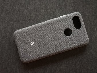 The Pixel 3 fabric case