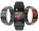 Curved-display smartwatch: Makibes T20 is cheap and now up for pre-order (Image source: Geekbuying & Makibes)