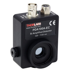 ThorLabs PDA100A-EC sensor to detect PWM and measure response times