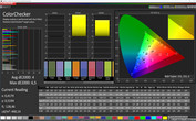 CalMAN Natural Warm ColorChecker sRGB