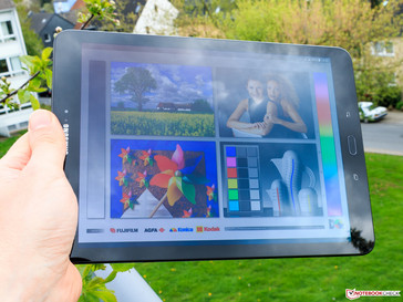 Samsung Galaxy Tab S3 Tablet Review - NotebookCheck net Reviews