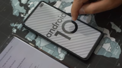 The alleged S10+ on Android 10. (Source: YouTube)