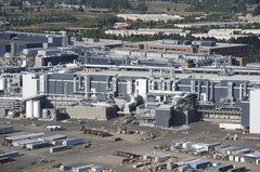 One of Intel's semiconductor fabrication plants. (Source: Oregon Live)
