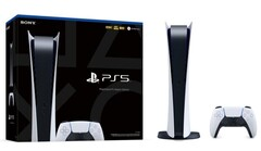 Both the regular PS5 and Digital Edition (pictured here) get to utilize the souped-up I/O system. (Image source: Sony)