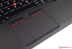 Touchpad of the Lenovo ThinkPad T470p