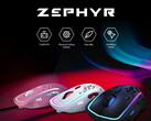 The Zephyr Gaming Mouse features a fan to minimise sweat when gaming. (Image source: Zephyr Gaming)