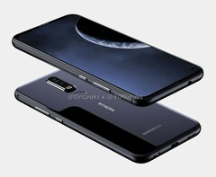 Purported renders of the Nokia X71. (Source: OnLeaks)