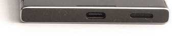 Lower edge: USB-C port, speaker