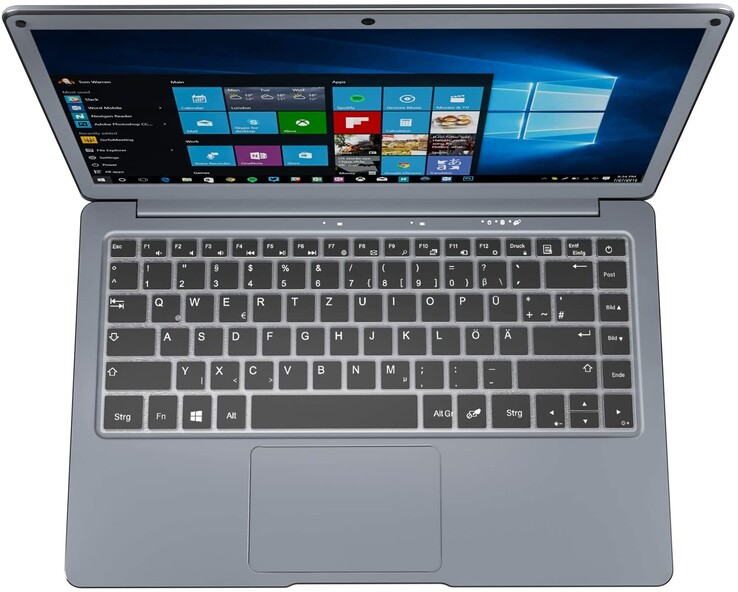 Jumper EZbook X3 13.3-inch FHD: unusually weak input devices