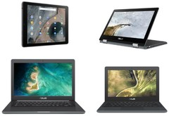 Asus Chromebook Education lineup January 2019 (Source: Edge Up)