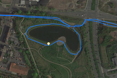 GPS Test: Garmin Edge 500 – Cycling around a lake