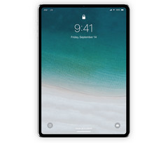 Concept art of what may be the 2018 iPad Pro. (Image source: iDownloadBlog)