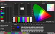 CalMAN Natural Warm Colorspace sRGB