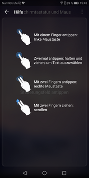 Huawei Mate 10 Pro: Projection mode / Desktop mode
