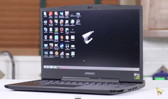 High-end laptops, like this Aorus X3, have seen high growth in Western Europe and North America. (Source: Gigabyte/Aorus)