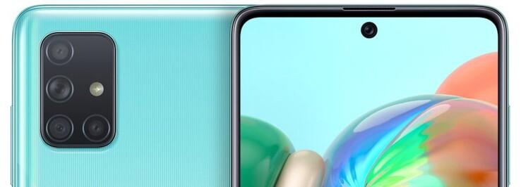 Samsung Galaxy A71 Smartphone Review An Xxl Display And Quad Cameras Notebookcheck Net Reviews