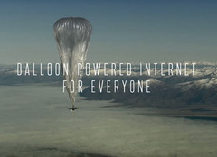 Alphabet's Project Loon uses weather balloons with cellular equipment to provide mobile data in remote areas. (Source: Alphabet)