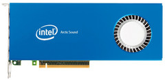 How Intel's Arctic Sound discrete GPU might look. (Source: Wccftech)