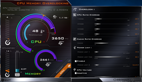 CPU and RAM overclock