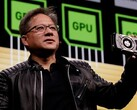 Jensen Huang made a big claim about the RTX Series' capabilities (Image source: Nvidia)