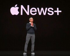 Apple News+ unveiled by Tim Cook