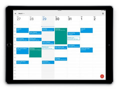 Google Calendar available on Apple iPad March 2017
