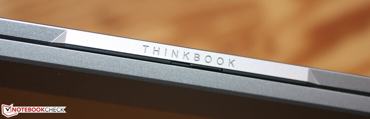 The Lenovo ThinkBook 13s-ITL G2 with the Iris Xe G7 80EUs