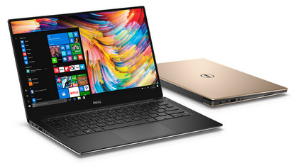 The XPS 13 features either Intel HD Graphics 620 or Iris Pro 640 iGPUs. (Source: Dell)