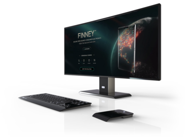 The Finney PC terminal (Source: Sirin Labs)