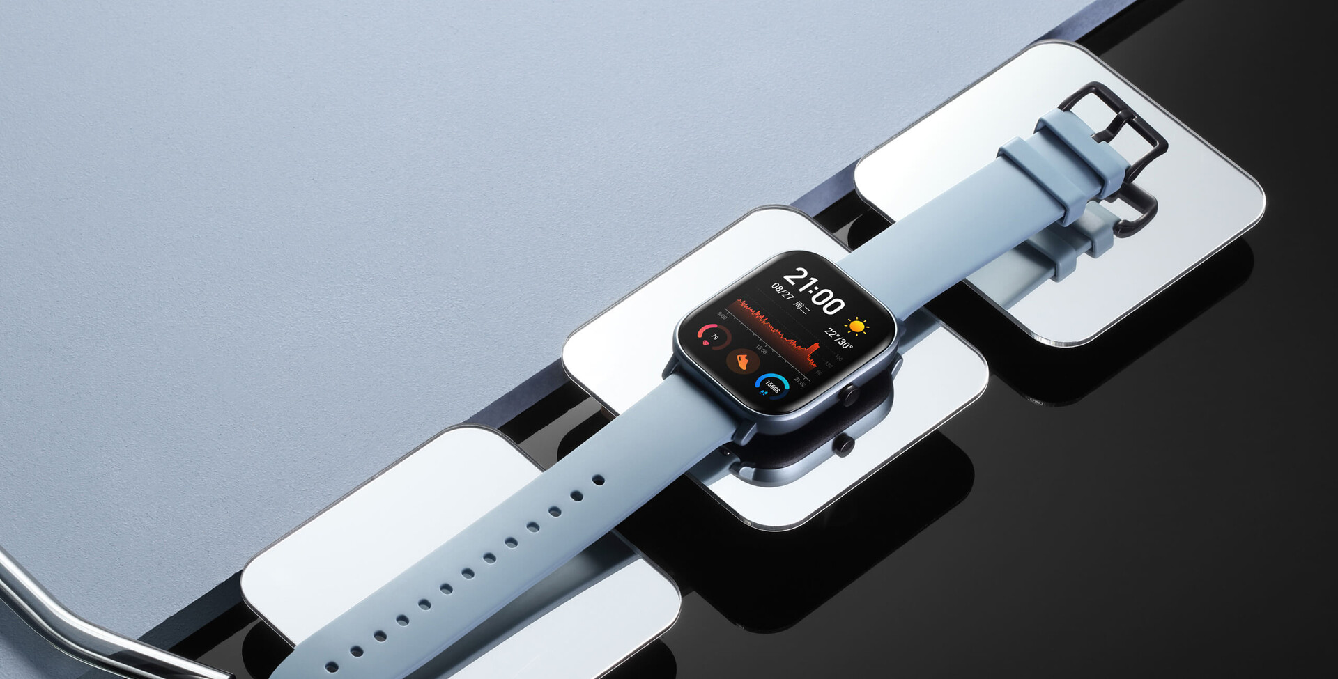 Amazfit GTS: Huami launches Apple Watch clone for ~US$126 ...