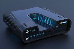 This Sony PlayStation 5 dev-kit design looks to be real deal. (Source: LetsGoDigital)