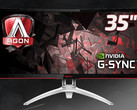 AOC unveils 35-inch Agon AG352UCG curved gaming monitor