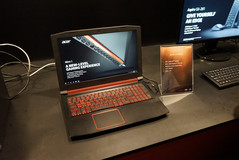 The Acer Nitro 5, powered by an AMD A-Series FX CPU and Radeon RX550.