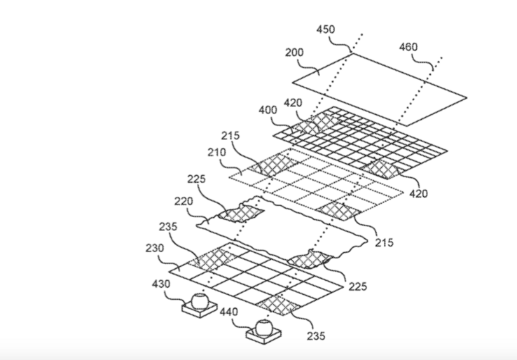 One of the technical drawings from the Essential-filed patent. (Source: TechCrunch)