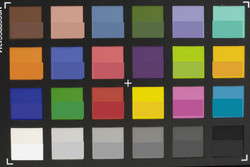 ColorChecker: The reference color is in the bottom half of the field.