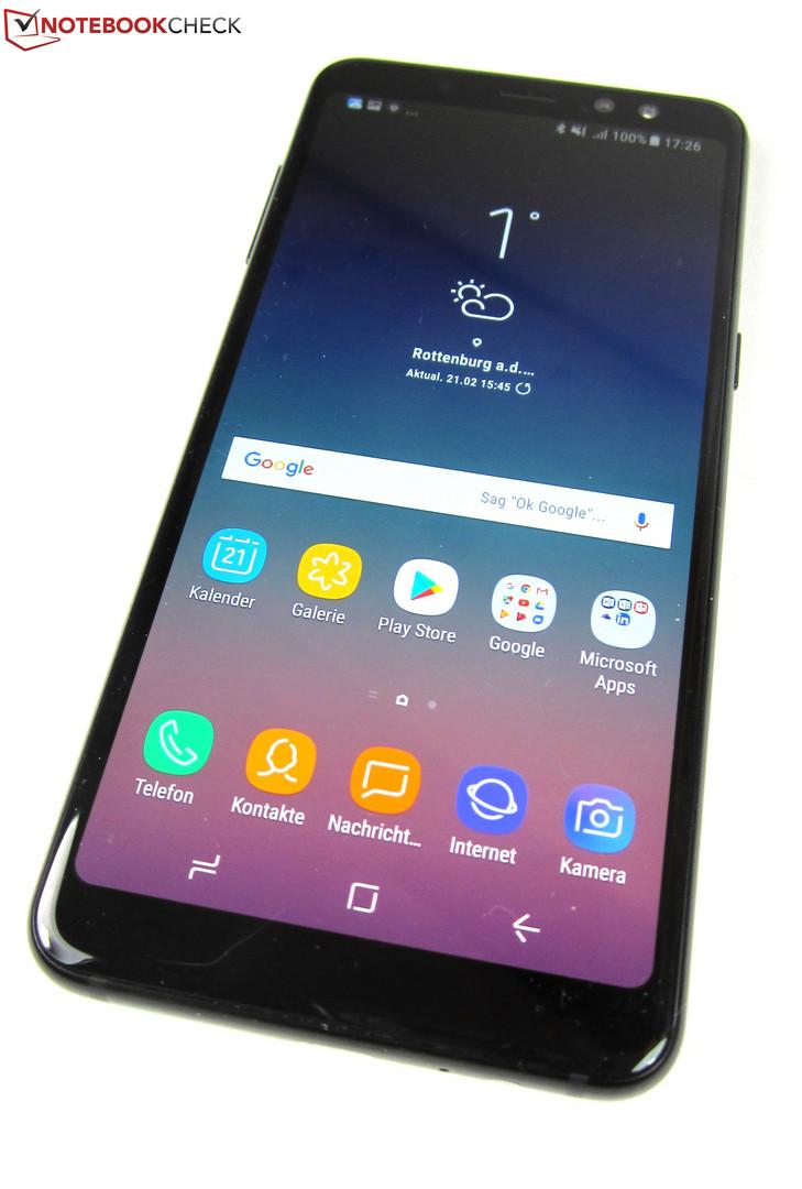 samsung galaxy a8 2018 smartphone review reviews