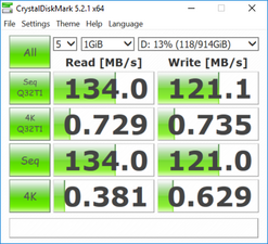 CDM 5 (Secondary HDD)