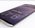 A concept rendering of a curved iPhone 8. (Source: TechConfigurations)