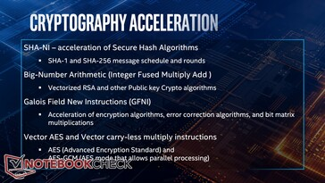 Cryptography improvements in detail