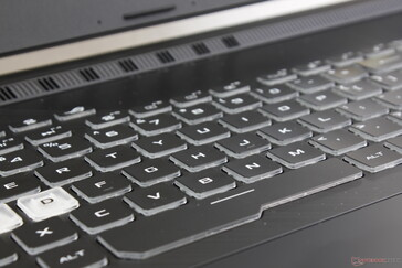 "Keys are slightly ""clickier"" and firmer than on the Asus VivoBook series"
