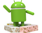 Android Nougat statue, update 7.1.2 now rolling out early April 2017