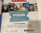 GameStop promises unlimited gaming fun for the cost of a single game. (Source: User Virtua on ResetEra Forums)