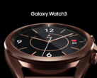 The Galaxy Watch3. (Source: Samsung)