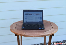 Lenovo IdeaPad 110S in the shade