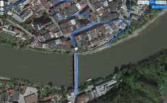 GPS test: Cubot J3 - Bridge