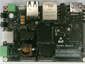 PanGu, an STM32MP1 powered Raspberry Pi alternative with a dual-core MPU. (Image source: I2Som)
